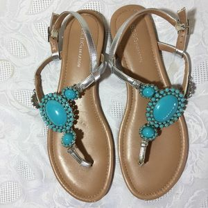 BCBGeneration jewel sandals